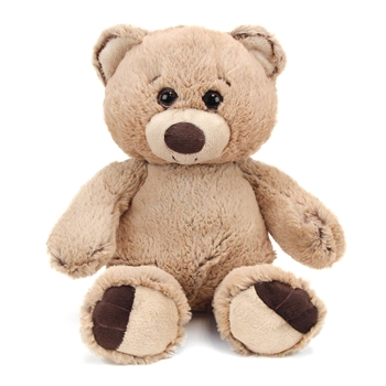 Bumbley the 10 Inch Plush Tan Bear by First and Main