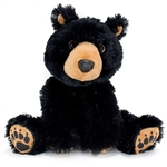 Ebony the Stuffed Black Bear by First and Main