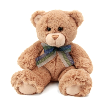 Small Dean the Soft Plush Tan Teddy Bear by First and Main