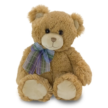 Dean the Soft Plush Tan Teddy Bear by First and Main
