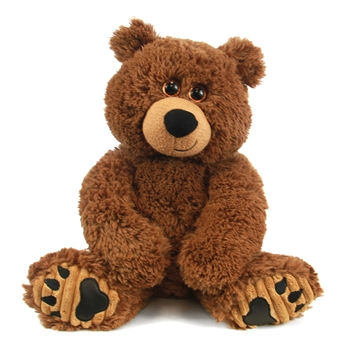 Grizzles the 10 Inch Plush Brown Bear by First and Main