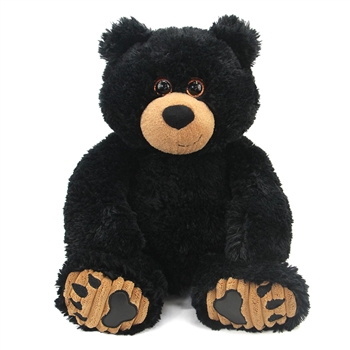 Blackie the 10 Inch Plush Black Bear by First and Main