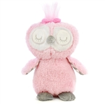 Baby Safe Pink Plush Owl by First and Main