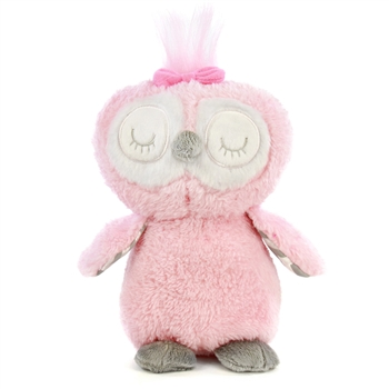Pink Plush Owl 8 Inch by First and Main