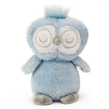Baby Safe Blue Plush Owl by First and Main