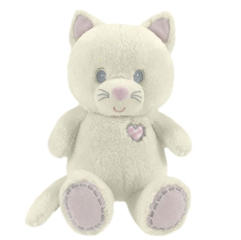 Ashley the Tender Friends Baby Safe Stuffed Cat by First and Main