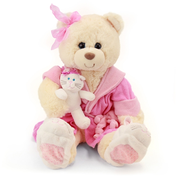 6ef8442a414 Recuperate Kate the Get Well Soon Teddy Bear by First and Main. Larger  Photo ...