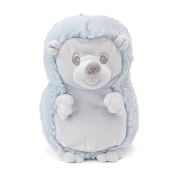 Baby Safe Blue Plush Hedgehog by First and Main