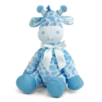 Jingles the Baby Safe Plush Blue Giraffe by First and Main