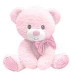 Tumbles the Pink Baby Safe Pink Plush Teddy Bear by First and Main