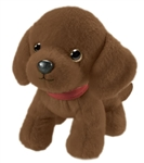 Pup E. Dog the Stuffed Chocolate Lab Puppy by First and Main