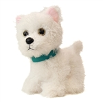 Stuffed Westie with Collar Wuffles Dog by First and Main