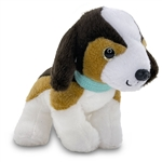 Stuffed Beagle with Collar Wuffles Dog by First and Main
