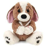 Melancholy Mel the Get Well Plush Dog by First and Main