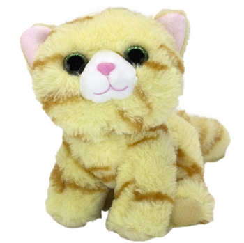 Stuffed Orange Tabby Fluffles Cat by First and Main