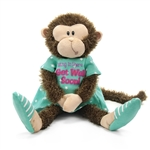 Mendin Monkey the Stuffed Get Well Soon Monkey by First and Main