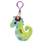 Sasha the Fantasea Clip-On Seahorse Plush Toy by First and Main
