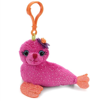 Sydney the Fantasea Clip-On Seal Plush Toy by First and Main