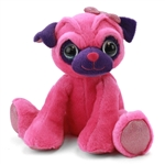 Penelope the Sparkly Pink Stuffed Pug by First and Main