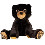 Floppy Friends Black Bear Stuffed Animal by First and Main