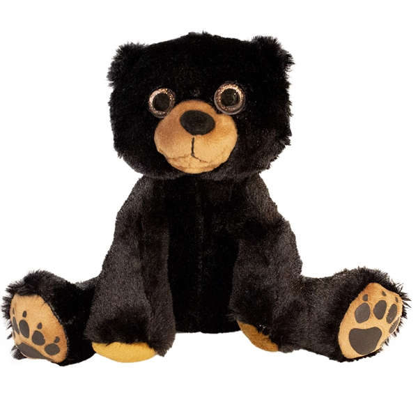 Floppy Friends Black Bear Stuffed Animal By First And Main At