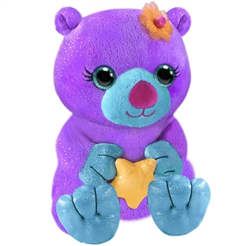 Opal the Sparkly Purple Plush Sea Otter by First and Main
