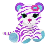 Tasha the Sparkly Plush White Tiger by First and Main