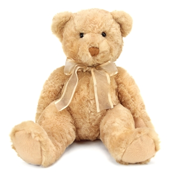 Tender Teddy the Gold Plush Teddy Bear by Douglas