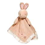 Plush Brown Bunny Baby Blanket 14 Inch Lil Snuggler by Douglas