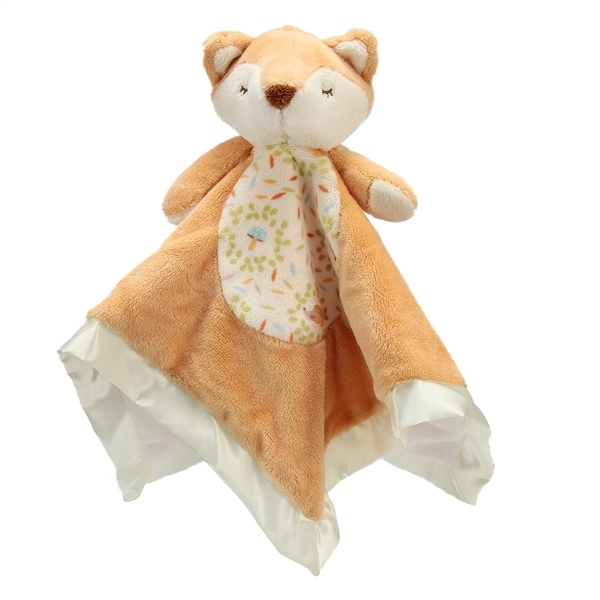 Plush Fox Baby Blanket 14 Inch Lil Snuggler Douglas Stuffed Safari