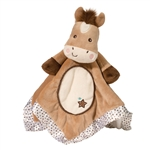 Plush Star Pony Baby Blanket 14 Inch Lil Snuggler by Douglas