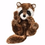Stuffed Baby Raccoon Lil Handfuls Plush by Douglas