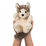 Stuffed Baby Wolf Lil Handfuls Plush by Douglas