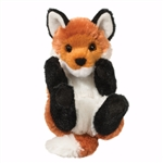 Stuffed Baby Fox Lil Handfuls Plush by Douglas