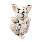 Stuffed Baby Spotted Pig Lil Handfuls Plush by Douglas