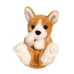 Stuffed Corgi Puppy Lil Handfuls Plush by Douglas