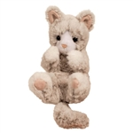 Plush Gray Kitten Lil' Handful by Douglas