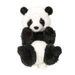 Stuffed Baby Panda Lil Handfuls Plush by Douglas