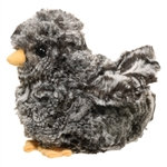 Cheep the Little Plush Black Baby Chick by Douglas