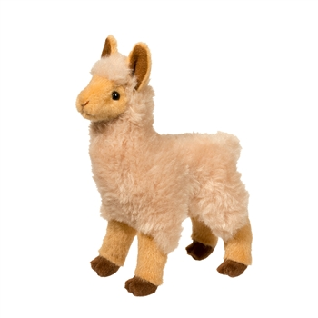 Jasper the Little Plush Golden Llama by Douglas