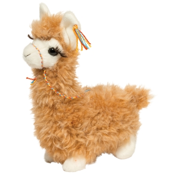 Lil' Wolly the Stuffed Llama by Douglas