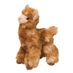 Lexi the Little Plush Brown Llama by Douglas
