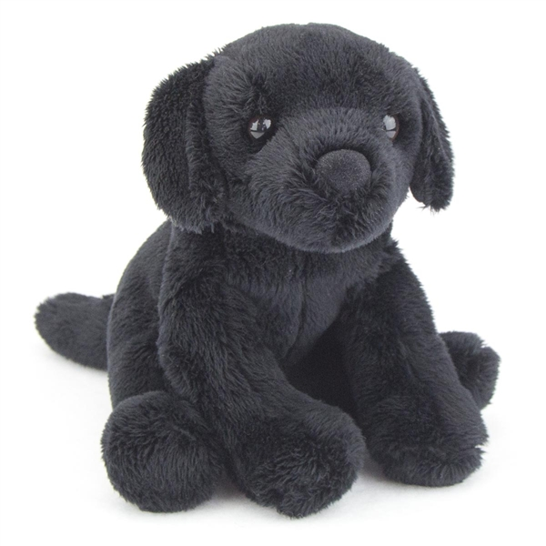 Lucy The 5 Inch Plush Black Lab Mini Pup By Douglas At Stuffed Safari