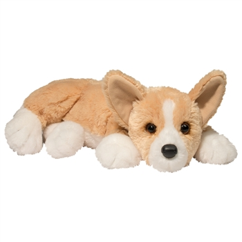 Rudy the Lying Stuffed Corgi by Douglas