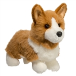 Louie the Standing Stuffed Corgi by Douglas