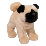 Bardo the Standing Stuffed Pug by Douglas
