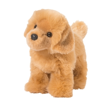 Chap the Standing Stuffed Golden Retriever by Douglas