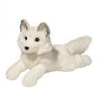 Yuki the Floppy Plush Arctic Fox by Douglas