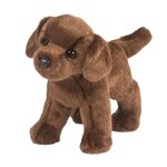 Tucker the Standing Stuffed Chocolate Lab by Douglas