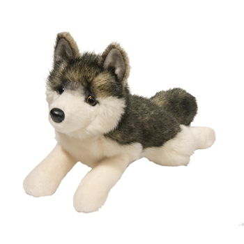 Phoenix the Floppy Plush Wolf by Douglas